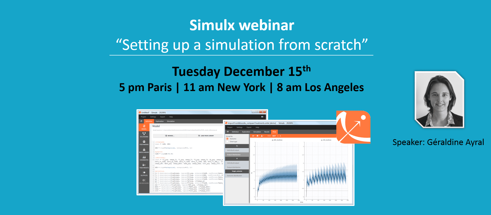 """Simulx webinar """"Setting up a simulation from scratch"""""""